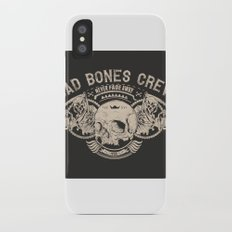 Grim reaper iPhone X Slim Case