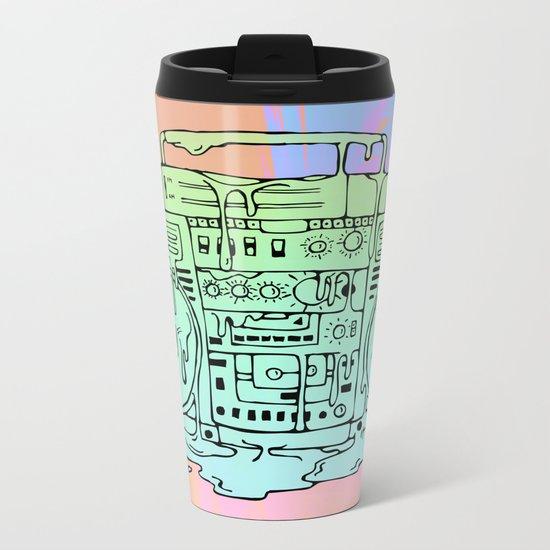 Boombox Metal Travel Mug