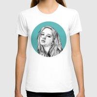 jennifer lawrence T-shirts featuring Jennifer Lawrence by Sharin Yofitasari