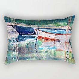 Dinghies Rectangular Pillow