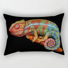 Chameleon 3 Rectangular Pillow