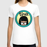 tina fey T-shirts featuring Tina by Page394