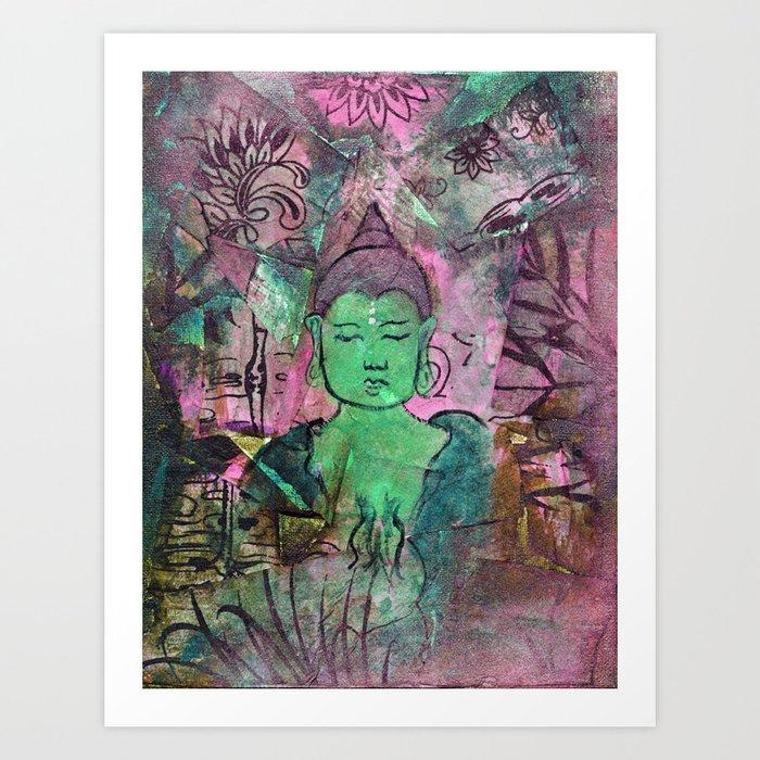 Queer Buddha ~ Truth II Art Print
