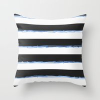 simpson Throw Pillows featuring Simpson by TypeArtist