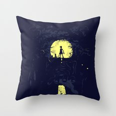 Last Living Throw Pillow