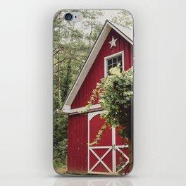 Red Barn 3 iPhone Skin