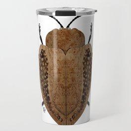 Exotic Wood Tortoise Beetle Travel Mug