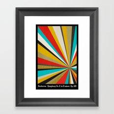 Beethoven - Symphony No. 9 Framed Art Print