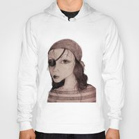 pirate Hoodies featuring Pirate by CokecinL