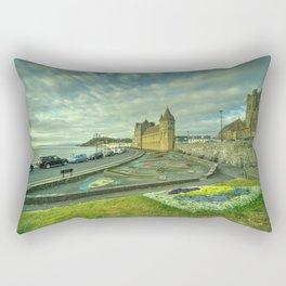 Aberystwyth Church and sky Rectangular Pillow
