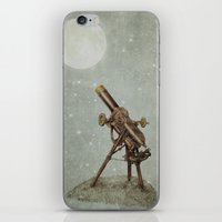 moonrise iPhone & iPod Skins featuring Moonrise by Eric Fan
