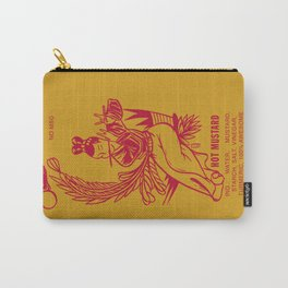 Hot Mustard Carry-All Pouch