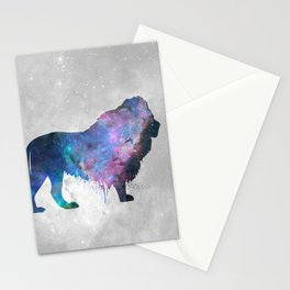 Galaxy Series (Lion) Stationery Cards