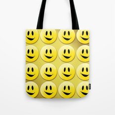 Smiley Smileys! Tote Bag