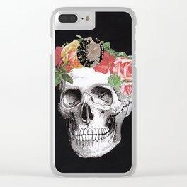 Bury Me In Diamonds Clear iPhone Case