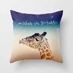 GiRAFFe II Throw Pillow