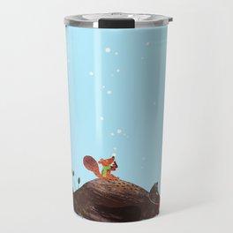 Brown Bear and Squirrel Travel Mug