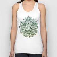 jungle Tank Tops featuring Jungle by Allison Fortuna