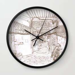 Beijing.China.Donglangxia Hutong东廊下胡同 Wall Clock