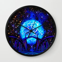 NEBULA BRIDGE TO THE UNIVERSE Wall Clock