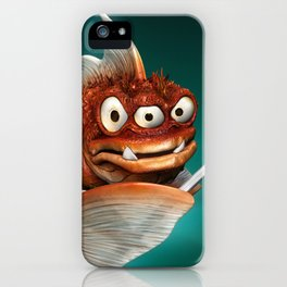 Evil Fish iPhone Case