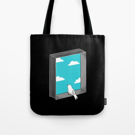 Every book a window Tote Bag