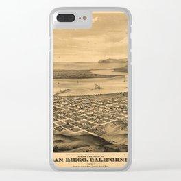 San DIego 1876 Clear iPhone Case
