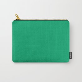 Jade - solid color Carry-All Pouch