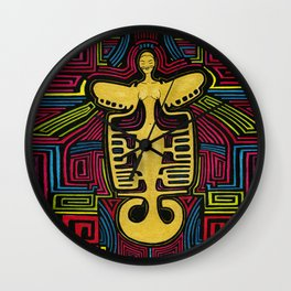 Colombia Art  Wall Clock