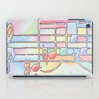 music notes iPad Cases featuring Music Notes by Rick Borstelman