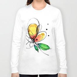 Ecstasy Bloom No.8 by Kathy Morton Stanion Long Sleeve T-shirt