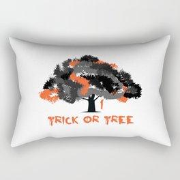 Trick or tree (B+O) Rectangular Pillow