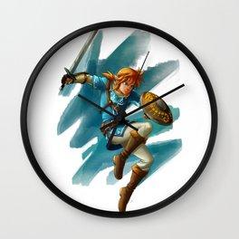 Link (The legend of Zelda Breath of the wild) Wall Clock