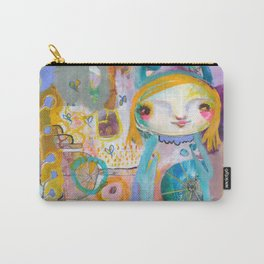 Moon Face Carry-All Pouch