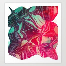 Magnetic Disturbance Art Print
