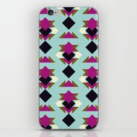 solid iPhone & iPod Skins featuring Nu Solid by Leandro Pita
