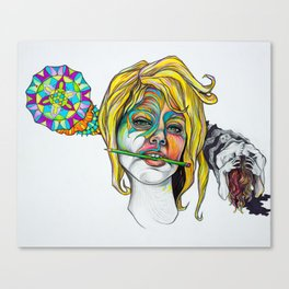 Mind of Artist Canvas Print
