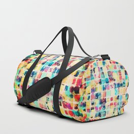 Painted Boxes Duffle Bag