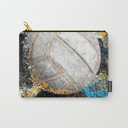 Volleyball art print work  6 Carry-All Pouch