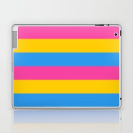Pansexual Pride Flag v2 Laptop & iPad Skin