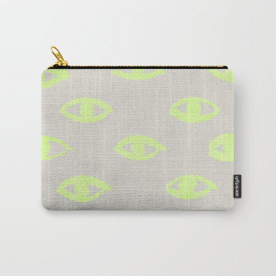 natural neon (eyes) Carry-All Pouch