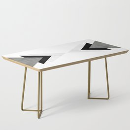 Arrows Monochrome Collage Coffee Table