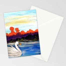 Swan Life Stationery Cards