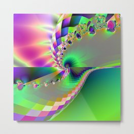 Serpentine Metal Print
