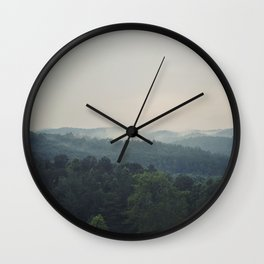 The Great Smoky Mountains Wall Clock