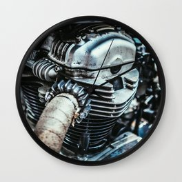 Engine Wall Clock