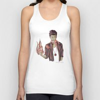 zayn Tank Tops featuring Zayn Firebender by thestoryischanging