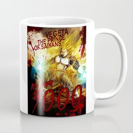 Vegeta Over 9000! Coffee Mug
