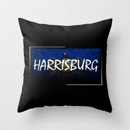 Harrisburg Throw Pillow