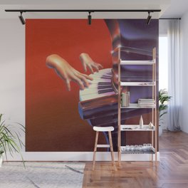 Piano Lessons Can Be Murder Wall Mural
